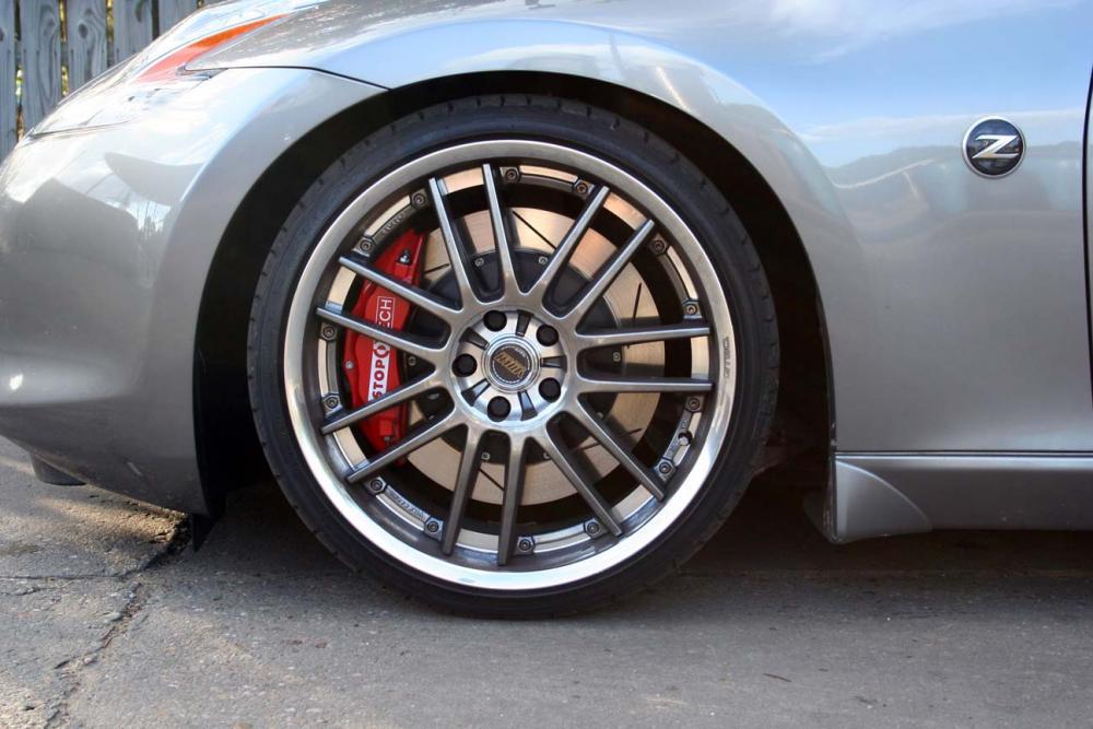Ebc Sport Rotors >> StopTech Front 13 Inch 4 Piston Big Brake Kit 370Z/G37 ...