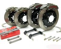 """370Z - Brembo GT-R 15"""" 6Piston Brake Kit"""