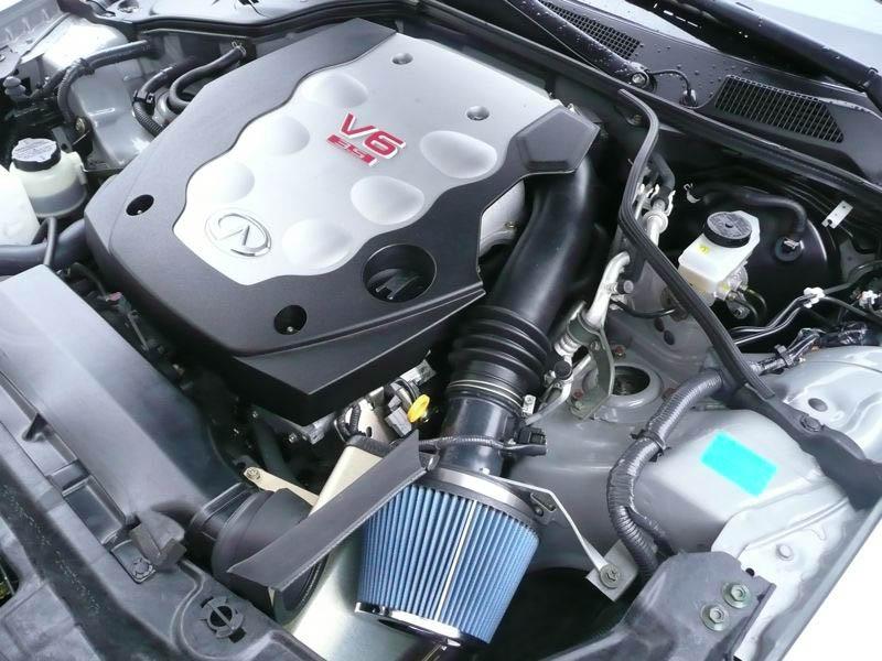 Jwt P on Nissan 350z Air Intake
