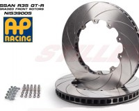 R35 - AP Slotted Rear Rotors