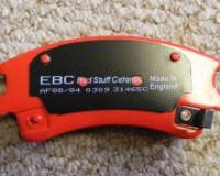 Z33 - EBC RedStuff Rear