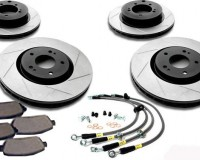 Z33 - StopTech Slotted Brake Kit