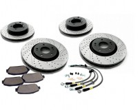Z33 - StopTech Slotted & Drilled Kit