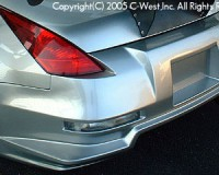 Z33 - C-West Long Rear Bumper E Type