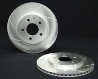 Z33 - PowerSlot Rear Cryo Slotted Rotor Brembo