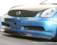 G35 - APR CF Front Lip