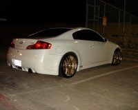 G35 - Chargespeed Rear Bumer No Diffuser