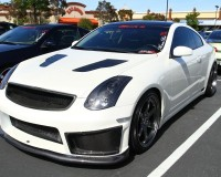 G35 - Chargespeed CF Under Bumper Cowl