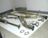 Z33 - Espelir JGT500 Dual Exhaust