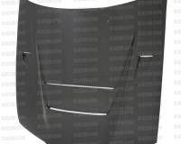 R32 - SEIBON DVII-Style CF Hood