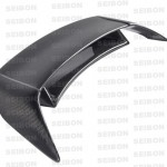 Seibon NN-style carbon fiber rear spoiler