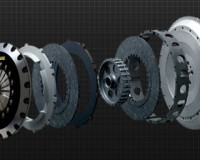 R32 - Carbonetic Twin CF Clutch 1350kg