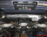 G37 - Greddy Ti-C Dual Exhaust
