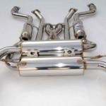 Invidia Gemini Catback Exhaust Rolled Stainless Steel Tips Infiniti G37