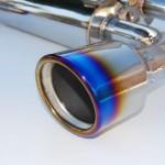 Invidia Gemini Catback Exhaust Rolled Titanium Tips Infiniti G37 Coupe