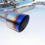 Invidia Gemini Catback Exhaust Single Layer Titanium Tips Infiniti G37
