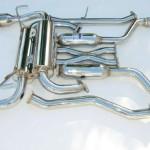 Invidia Gemini Catback Exhaust Single Layer Titanium Tips Infiniti G37 Coupe