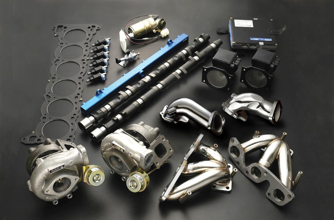Tomei Neo Hard Tune Turbo Kit Skyline GT-R R32 RB26DETT 89-94