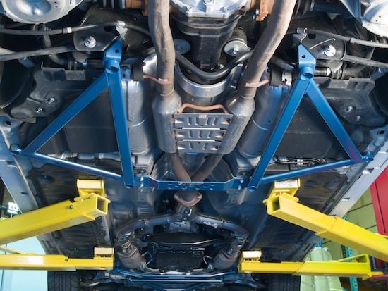 G37 Jack Points >> GTSPEC 6 Points Rear Subframe Brace G35 Sedan/G37 Coupe 07+