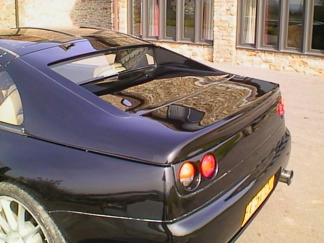 Euro Style Rear Tubed Hatch w/ Gl Nissan 300zx/Z32 2+0/2+2 90-96