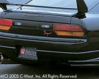 S13 - C-West Rear Half Spoiler