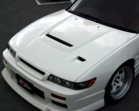 S13 - ChargeSpeed FRP Vented Hood Coupe