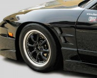 S13 - ChargeSpeed D-1 Wide Front Fenders HB