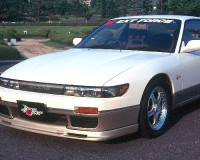S13 - ChargeSpeed Front Lip Aero Bumper Coupe
