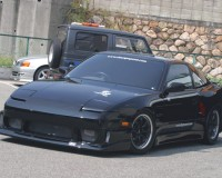 S13 - ChargeSpeed Wide Rear Fenders 50mm HB
