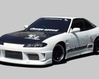 S13 - ChargeSpeed S15 Cover Full Kit w/ CF OEM Hood Coupe