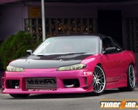 S13 - ChargeSpeed S15 Conver Full kit w/ CF OEM Hood HB