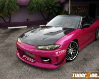 S13 - ChargeSpeed S15 Conver Full kit w/ CF Vented Hood HB