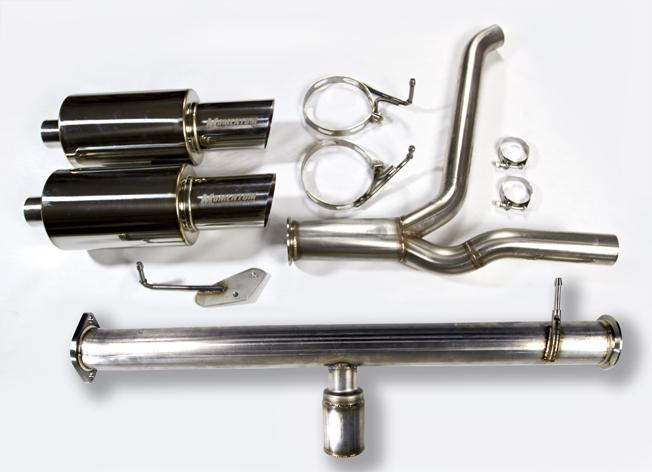 Momentum Performance Q-Series Header Back – Dual Exhaust
