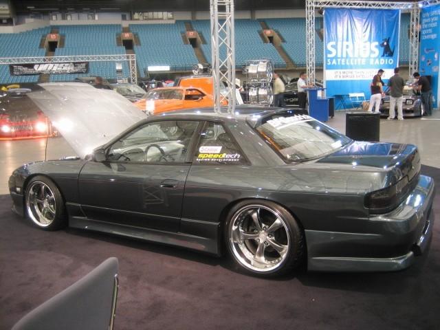 Origin Roof Spoiler Nissan 240sx Coupe 89 94