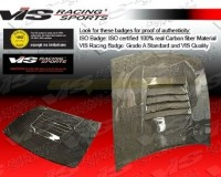 S13 - VIS CF Drift Hood Coupe