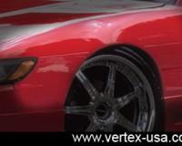 S13 - Vertex Aero Fenders Coupe