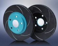 S13 - PMu SCR Front Slotted Rotors