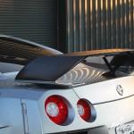 Abflug Dry Carbon Rear Spoiler Nissan GT-R R35 09b