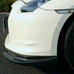 Abflug Front Lip Under Diffuser CF FRP Nissan GTR R35 09b
