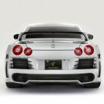 Abflug Rear Bumper Spoiler (Fin Less) Nissan GT-R R35 09