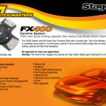 Clutch Masters FX400 Stage 4 Sprung 4-Puck Clutch Nissan 240SX S13 2.4L 89-90