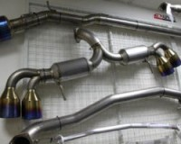 R35 - Fujitsubo Super Ti Titanium Exhaust w/ Ti Tips