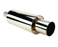 HKS Hi Power Stainless 130mm Muffler Universal