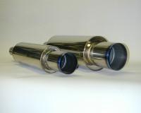 HKS Hi Power Titanium Tip 130mm Muffler Universal