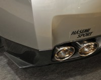 R35 - Hasemi CF Rear Skirts