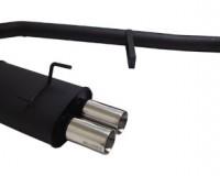 S13 - Megan Type 2 Black Dual Tip Catback Exhaust