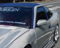 S13 - Origin FRP Window Sun Visor