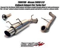 S13 - Tanabe Medalion Concept G Exhaust