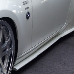 BRANEW FRP Side Skirt Lip Nissan 370z 09a