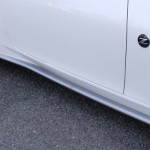 BRANEW Silver Carbon Side Skirt Lips Nissan 370z 09